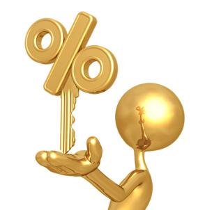 crédit et le taux